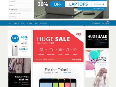 Give you responsive ecommerce website & native mobile apps