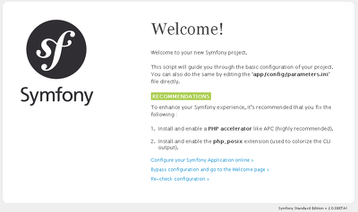 Fix any issue in Symfony framework