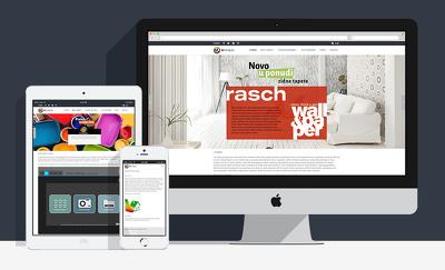 Design a modern PSD website mockups