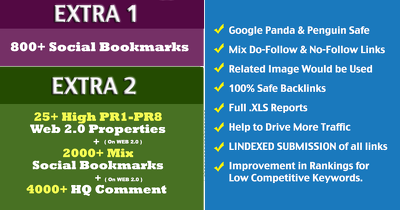 Create 132+ DOFOLLOW High PR1-PR7 or DA 30+ Highly Authorized Google Dominating BACKL