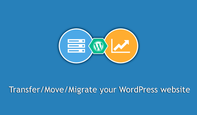 Transfer/migrate your WordPress website.