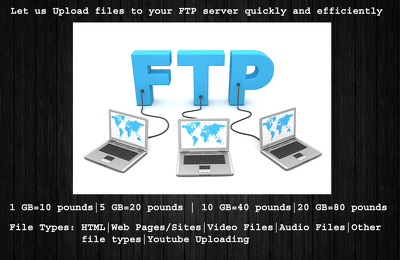 Upload files to FTP server quickly