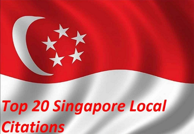 Do 20 Live Singapore Local Citations for your local business