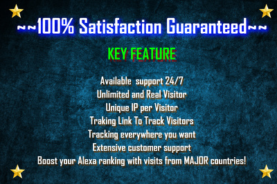 Drive 10,000 Visitor to your Website, UNLIMITED Daily Traffics