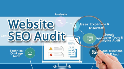 Provide seo audit report with complete guide to fix your website