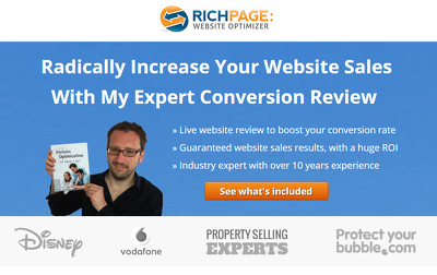 Significantly increase your website sales with a live website conversion review