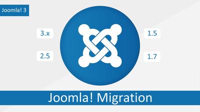 Migrate Joomla 1.5 or 2.5 to last Joomla 3