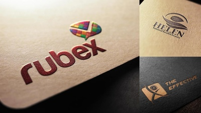 Design premium Logo + Unlimited Concepts & Revisions + Files