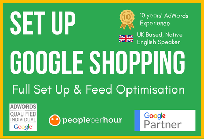 Set Up An Outstanding Google Shopping Campaign