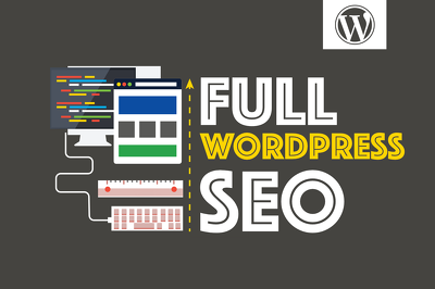 Full Wordpress Website SEO (On-Page SEO, Technical SEO & Website Speed Optimisation)