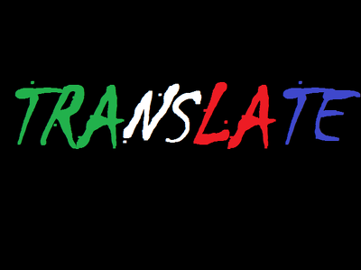 Translate 500 words from English into Italian
