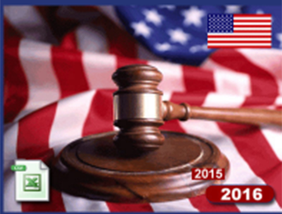 Attorneys & Legal Firm US database from all 50 States & DC
