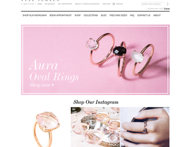 Design your fashion banner for your website or Facebook page