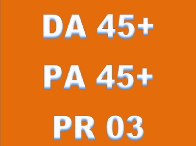 Write and publish on DA PA 45+ General Blog