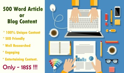 Write a 500+ word blog content or article that's SEO friendly.