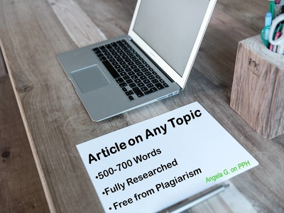 Write a 500-700 word article on any topic