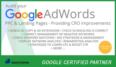 Setup and optimize your google adwords/ppc account