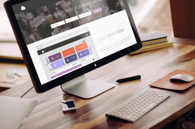 Design 1 web page mockup for you