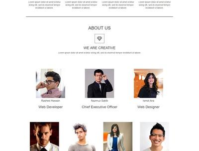 Design Responsive Landing Page