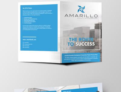 Design multi-page brochures