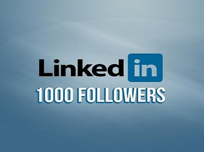 Add 1000 Linkedin Followers on your company pages