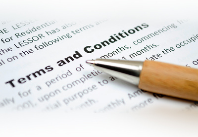 Write terms and conditions or privacy policy for your website or business
