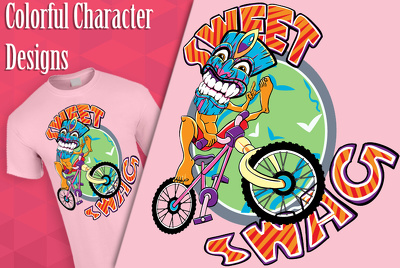 Illustrate vector designs for your tshirt