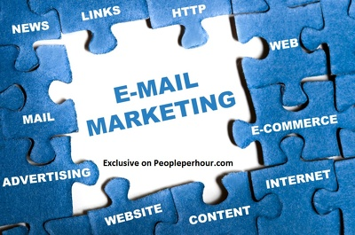 Email marketing campaign with html Email template,targeted business area people