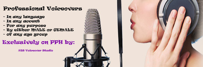Get a 150 word voiceover done in any language/accent/Gender/Purpose/Age Range