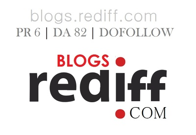 Guest Blog in Rediff Blog PR 6 DA 82 Dofollow Link ( FREE CONTENT )