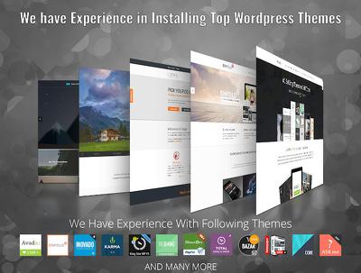 Install and setup Wordpress theme exactly like demo