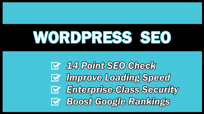 Professionally SEO your Wordpress website for higher Google rankings