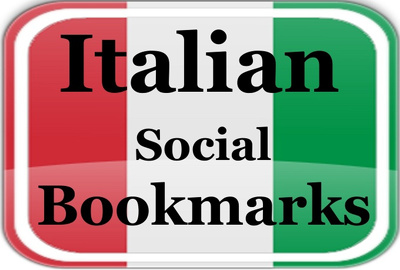 Provide 15 Italian Social Bookmarking