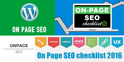 Do SEO OnPage to Boost Rankings Traffics Sales Leads