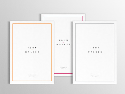 Design personal resume, cv, portfolio - simple, elegant, modern, minimal, clean style