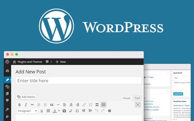 Set up a WordPress blog with 8 unique blog posts for your business