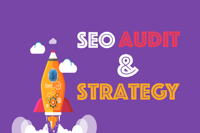 Produce Detailed SEO Audit & Develop a SEO/Online Marketing Strategy for your Website