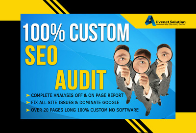Professionally Full Month SEO Booster your Website for higher Google rankings