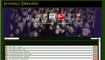 Build you football streaming website in one day