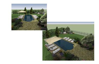 Design 3D concept for your dream Landscape Backyard