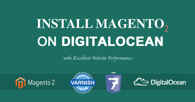 Install and configure 1 DigitalOcean server and Magento 2 within 1 day