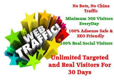 bring Unlimited Real Keyword Targeted Website Visitors - Adsense SAFE Organic Traffic