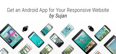 Develop an Android App for your responsive website