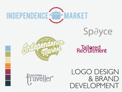 Bespoke logo design and branding development