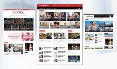 Develop a Responsive Blog | News | Magazine  Website using WordPress