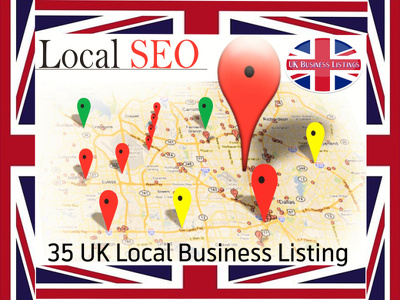 Build 40 SEO UK citation on High web directory for Google 1st Rank with Local Traffic