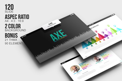 Deliver AXE Powerpoint Template