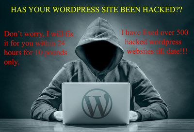 Clean malware, Hacked Virus or Malicious code from Wordpress within 24 hours