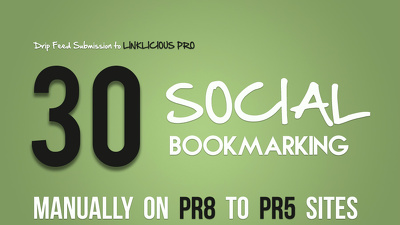 Complete SEO Method with Authority 30 PR8 to PR5 MANUAL Social Bookmarking