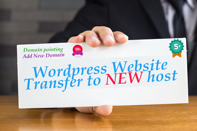 Transfer your Wordpress website to a new hosting